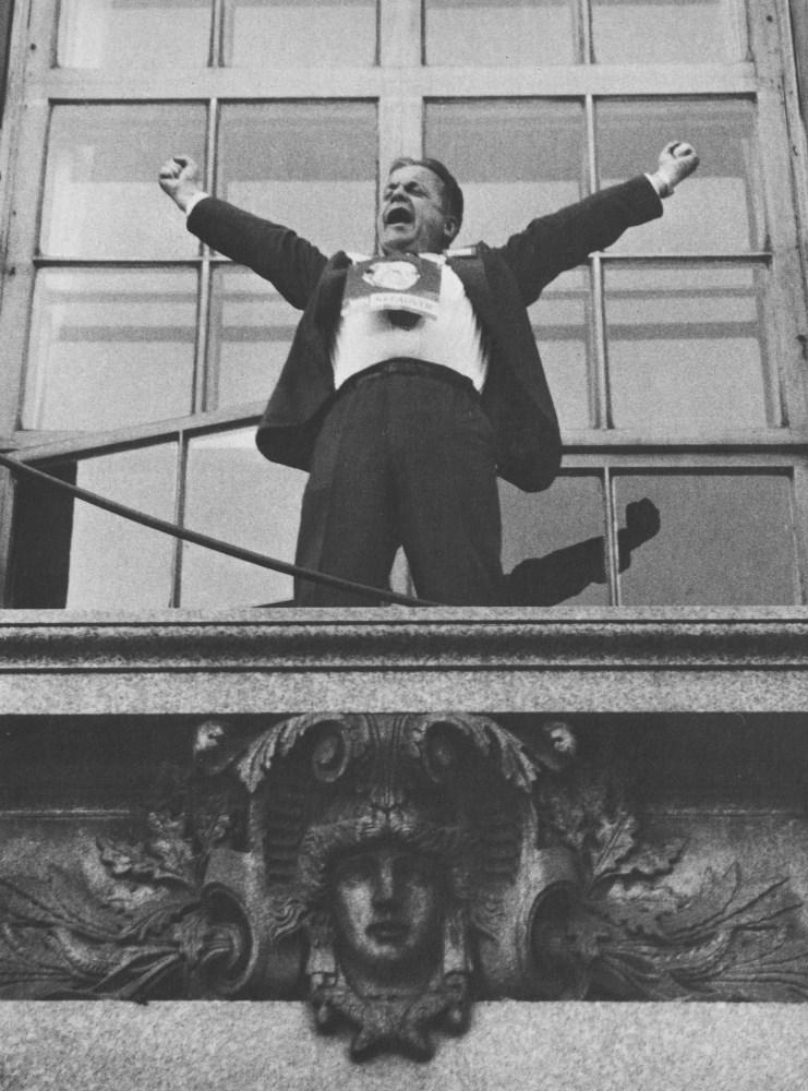 ROBERT FRANK - Political Rally, Chicago - Original photogravure
