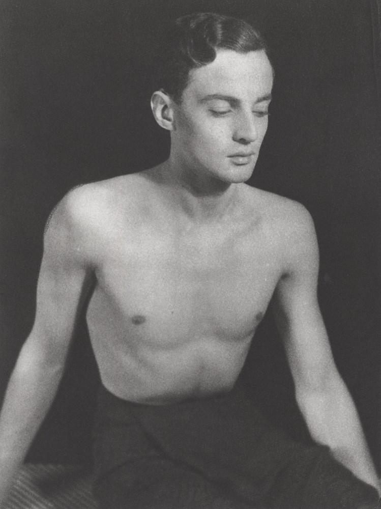 GEORGE PLATT LYNES - Self-portrait - Original photogravure