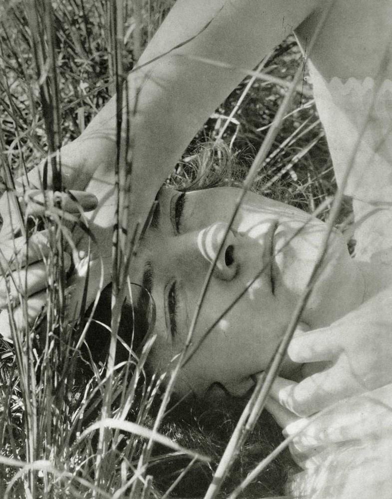 EDWARD STEICHEN - The Blue Sky - Dana Steichen, Long Island - Original vintage photogravure