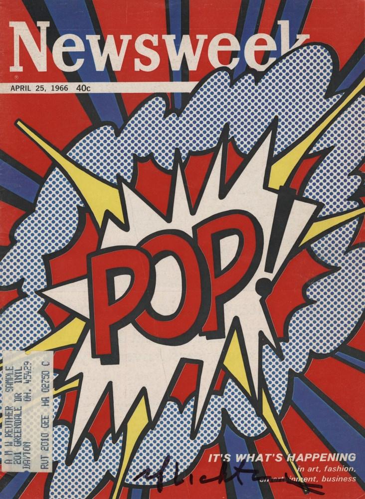 ROY LICHTENSTEIN - Pop! - Color offset lithograph