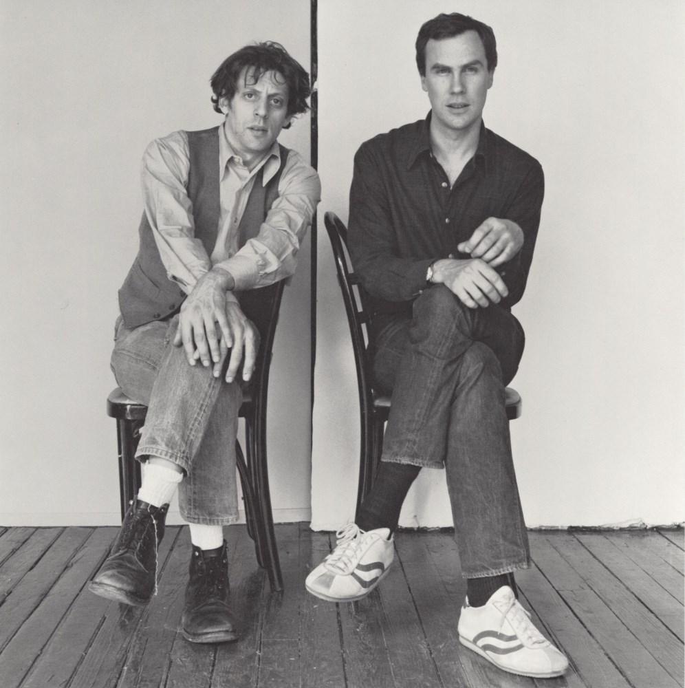 ROBERT MAPPLETHORPE - Philip Glass and Robert Wilson - Original photogravure