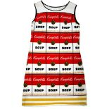 ANDY WARHOL - The Souper Dress - Color silkscreen on paper