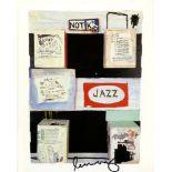 JEAN-MICHEL BASQUIAT - Jazz - Color offset lithograph