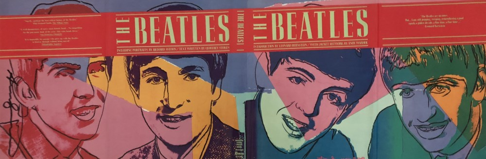 ANDY WARHOL - The Beatles #2 - Original color offset lithograph