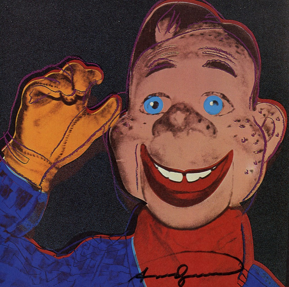 ANDY WARHOL - Howdy Doody - Color offset lithograph