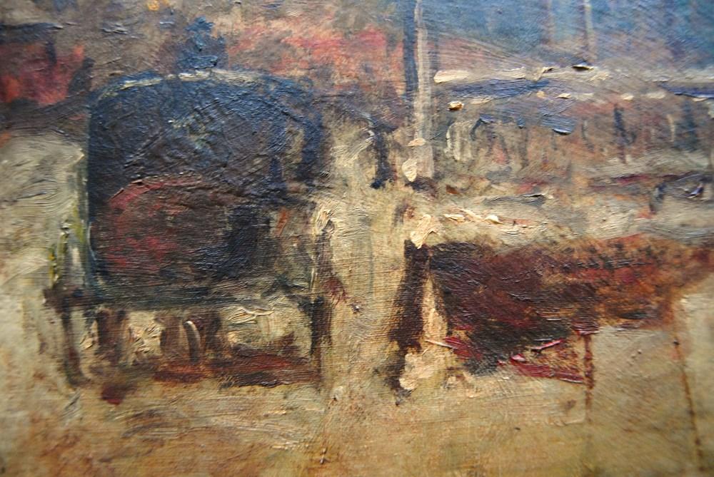 EDOUARD CORTES [d'apres] - Parisian View - Oil on canvas - Image 5 of 10