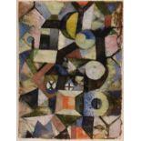 PAUL KLEE - Composition - Original color collotype