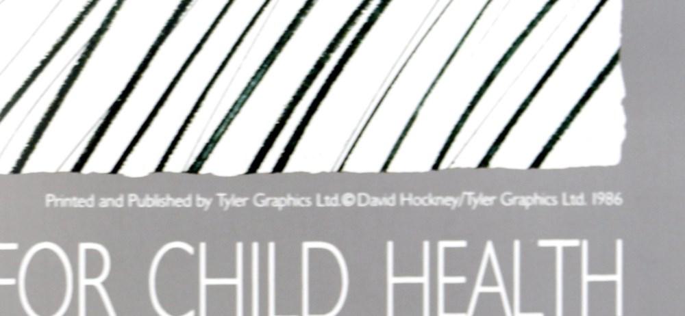 DAVID HOCKNEY - White Porcelain - Color offset lithograph - Image 3 of 3