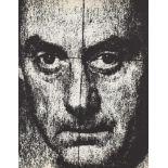 MAN RAY - Self-portrait with Reticle - Original photogravure
