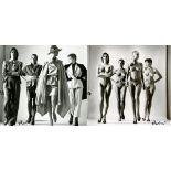 HELMUT NEWTON - Sie Kommen, Dressed/Sie Kommen, Naked - Original photolithographs