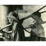 JOSE ORTIZ-ECHAGUE - Pecheurs, la Nuit - Original vintage photogravure