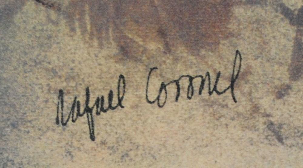 RAFAEL CORONEL - Dama para Rubens - Color offset lithograph - Image 2 of 5