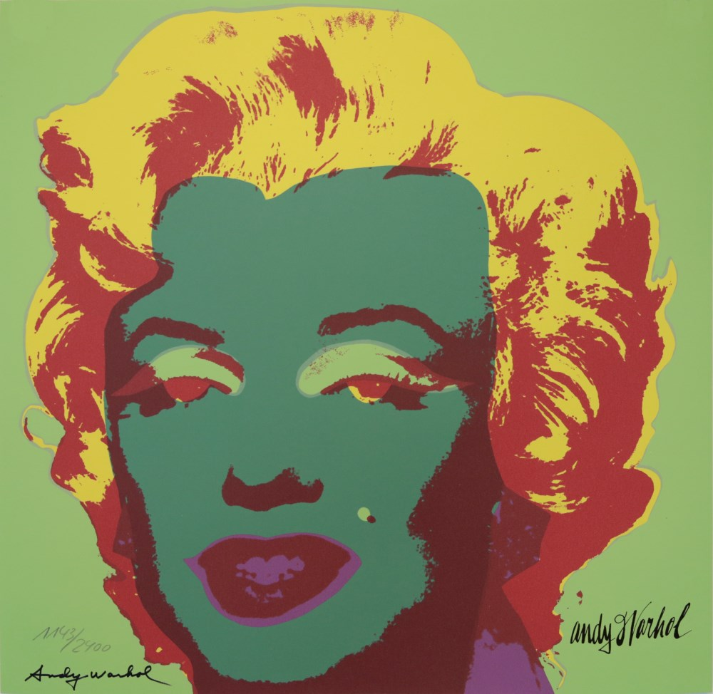 ANDY WARHOL [d'apres] - Marilyn #07 - Color lithograph
