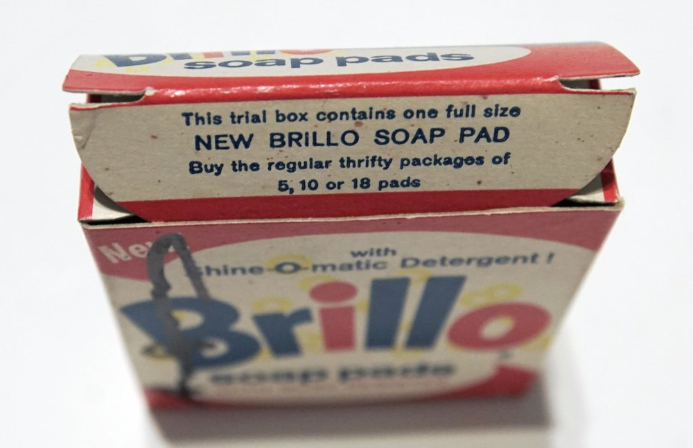 ANDY WARHOL - Brillo Box #1 - Color inks on stiff paperboard - Image 7 of 7