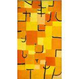 "PAUL KLEE - Signs in Yellow [""Signes en Jaune""] - Original color collotype"