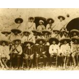 AGUSTIN VICTOR CASASOLA - Emiliano Zapata y Estado Mayor - Gelatin silver print