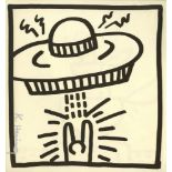 KEITH HARING - UFO #2 - Lithograph