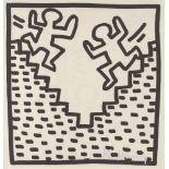 KEITH HARING - Stairs - Lithograph