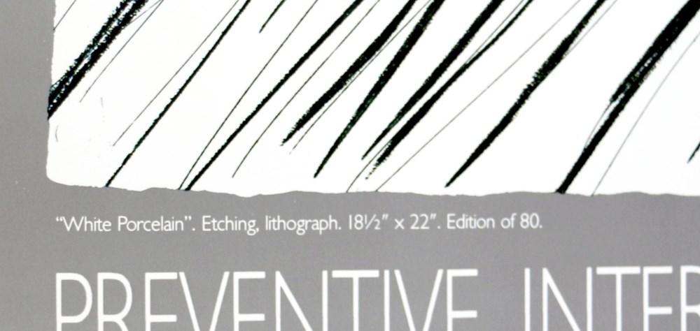 DAVID HOCKNEY - White Porcelain - Color offset lithograph - Image 2 of 3
