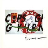 JEAN-MICHEL BASQUIAT & ANDY WARHOL - Collaboration No.15 - Color offset lithograph