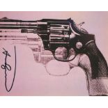 ANDY WARHOL - Guns #10 - Color offset lithograph