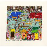 JAMES RIZZI - Striving for That Perfect Ten - Color silkscreen and lithograph