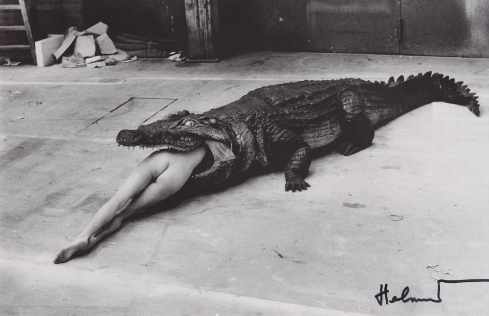HELMUT NEWTON - Scene from Pina Bausch, Dance Theater Wuppertal - Original photolithograph