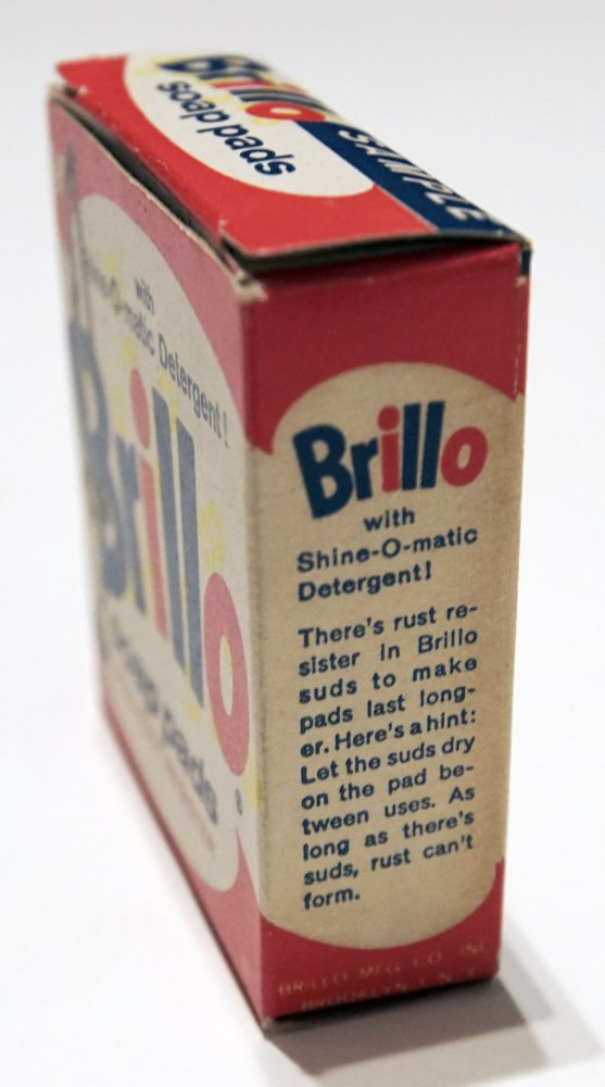 ANDY WARHOL - Brillo Box #1 - Color inks on stiff paperboard - Image 6 of 7