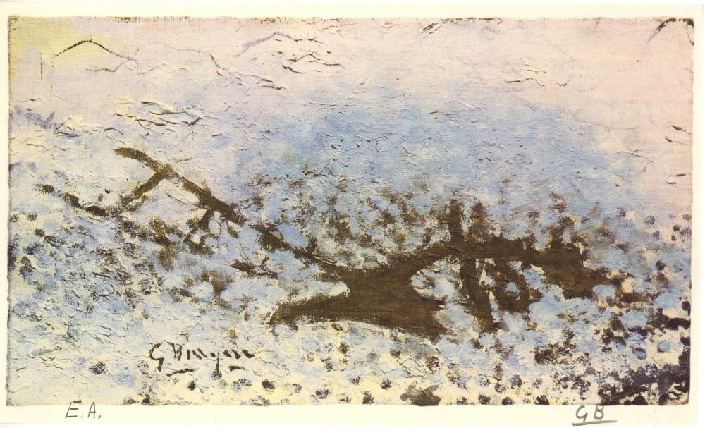 GEORGES BRAQUE - La charrue - Original color collotype