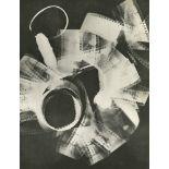 MAN RAY - Rayograph - Film Strip Roll Up - Original vintage photogravure