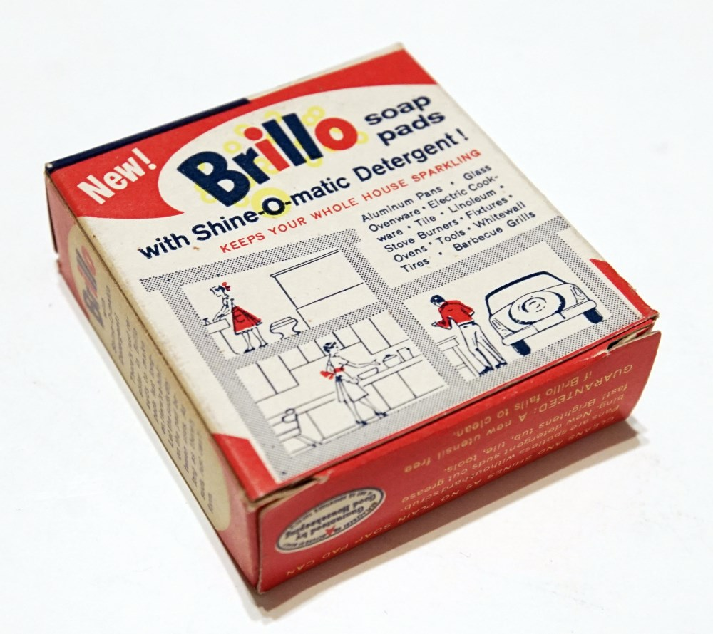 ANDY WARHOL - Brillo Box #1 - Color inks on stiff paperboard - Image 2 of 7