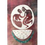 KARIMA MUYAES - Watermelon Dance - Color monoprnt