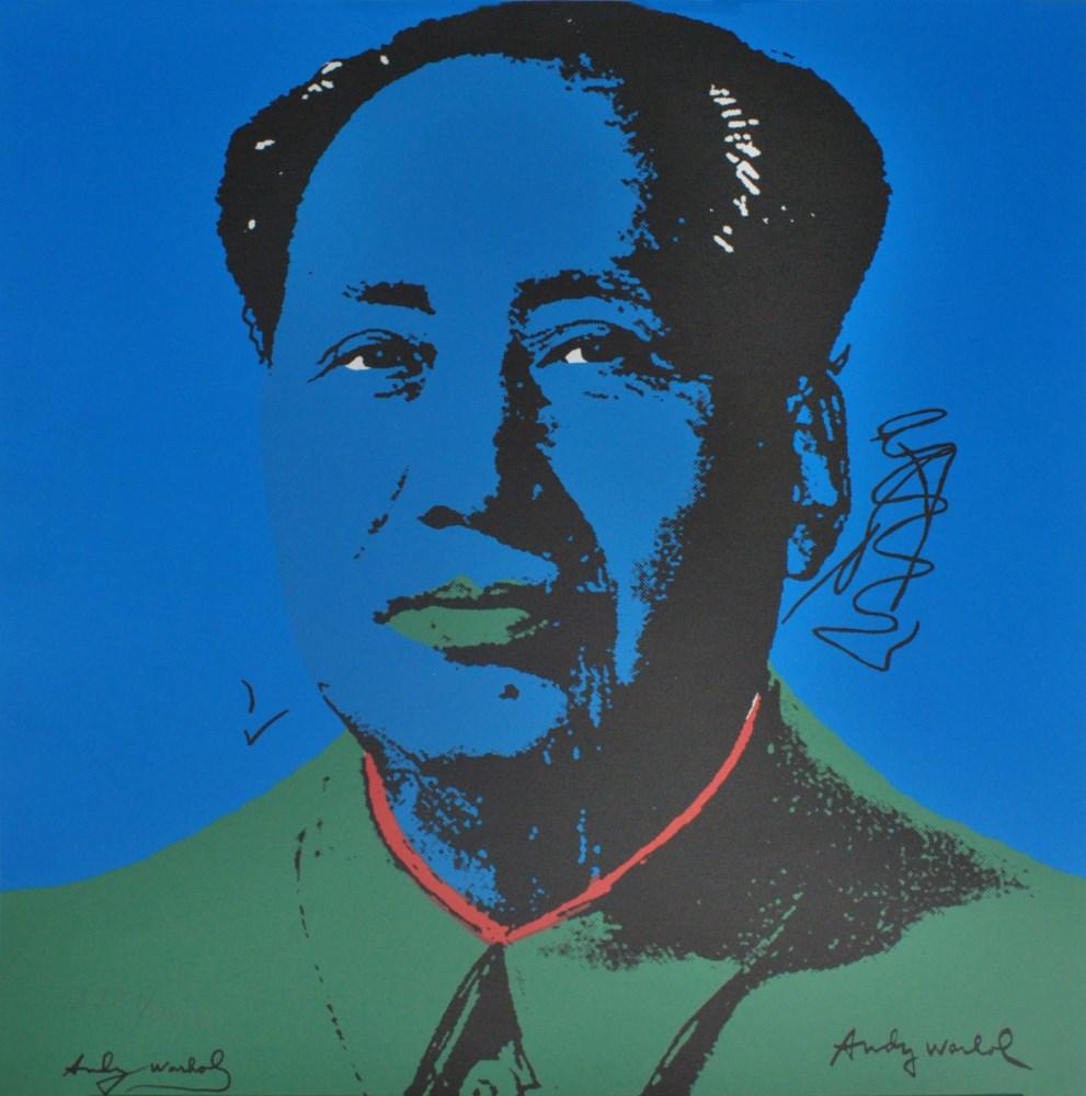 ANDY WARHOL [d'apres] - Mao #10 - Color lithograph