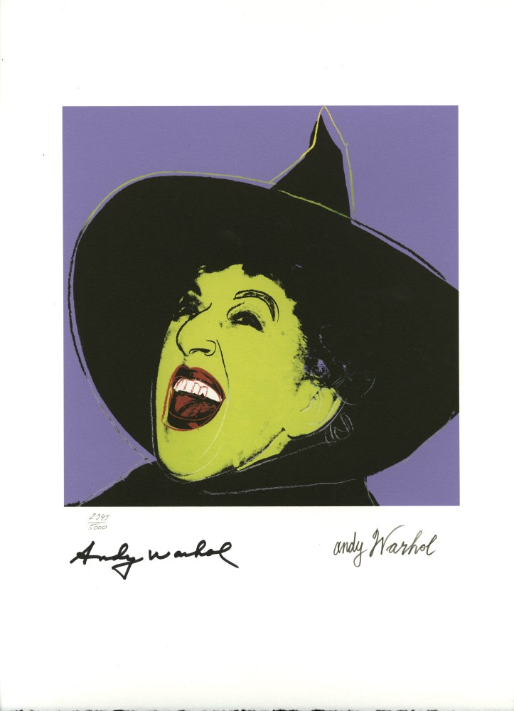 ANDY WARHOL [d'apres] - The Witch - Color lithograph