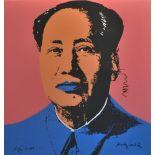 ANDY WARHOL [d'apres] - Mao #03 - Color lithograph