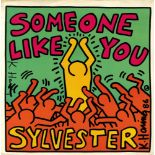 KEITH HARING - Sylvester: Someone Like You - Original color offset lithograph