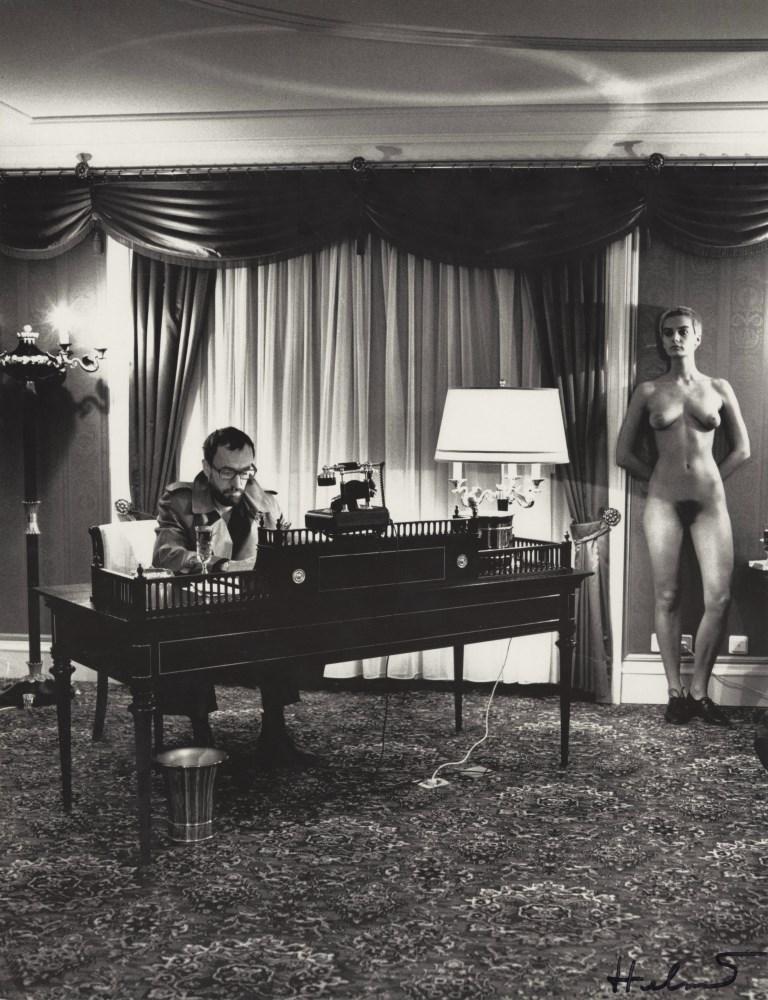 HELMUT NEWTON - Presidential Suite, Grand Hotel, Berlin - Original vintage photolithograph