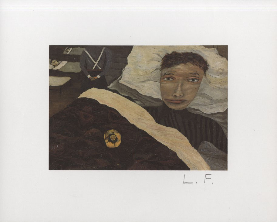 LUCIAN FREUD - Hospital Ward - Color offset lithograph