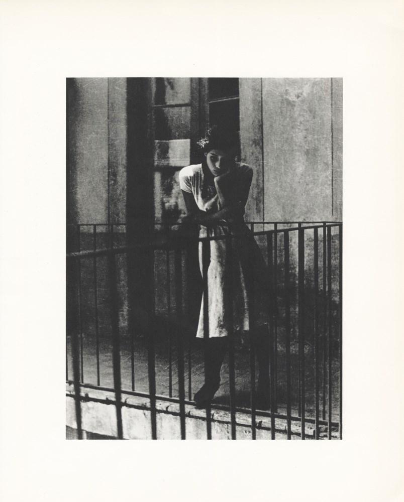 MANUEL ALVAREZ BRAVO - El Ensueño - Original photogravure