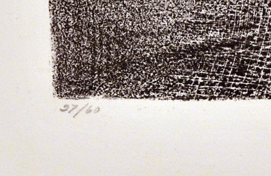 JOSE REYES MEZA - Toro 506 - Lithograph - Image 3 of 3