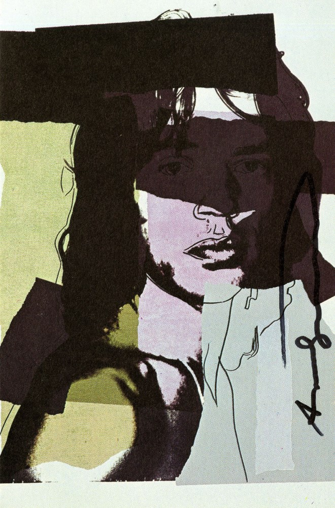 ANDY WARHOL - Mick Jagger #03 (first edition) - Color offset lithograph