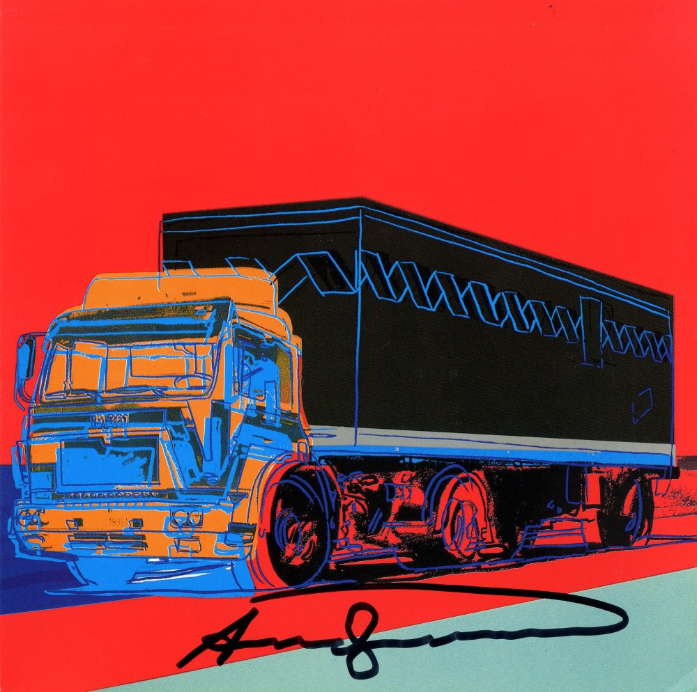 ANDY WARHOL - Trucks Suite - Color offset lithographs - Image 2 of 10