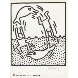 KEITH HARING - Naples Suite #15 - Lithograph