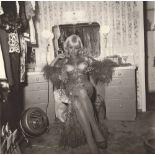 DIANE ARBUS - Topless Dancer in Her Dressing Room, San Francisco, CA - Original vintage photogravure