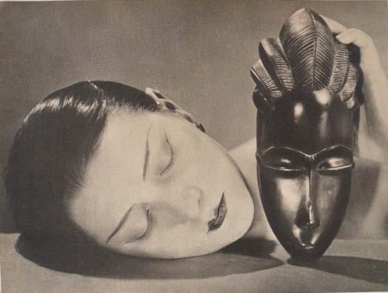 MAN RAY - Noire et Blanche (Noir et Blanc) - Original vintage photogravure