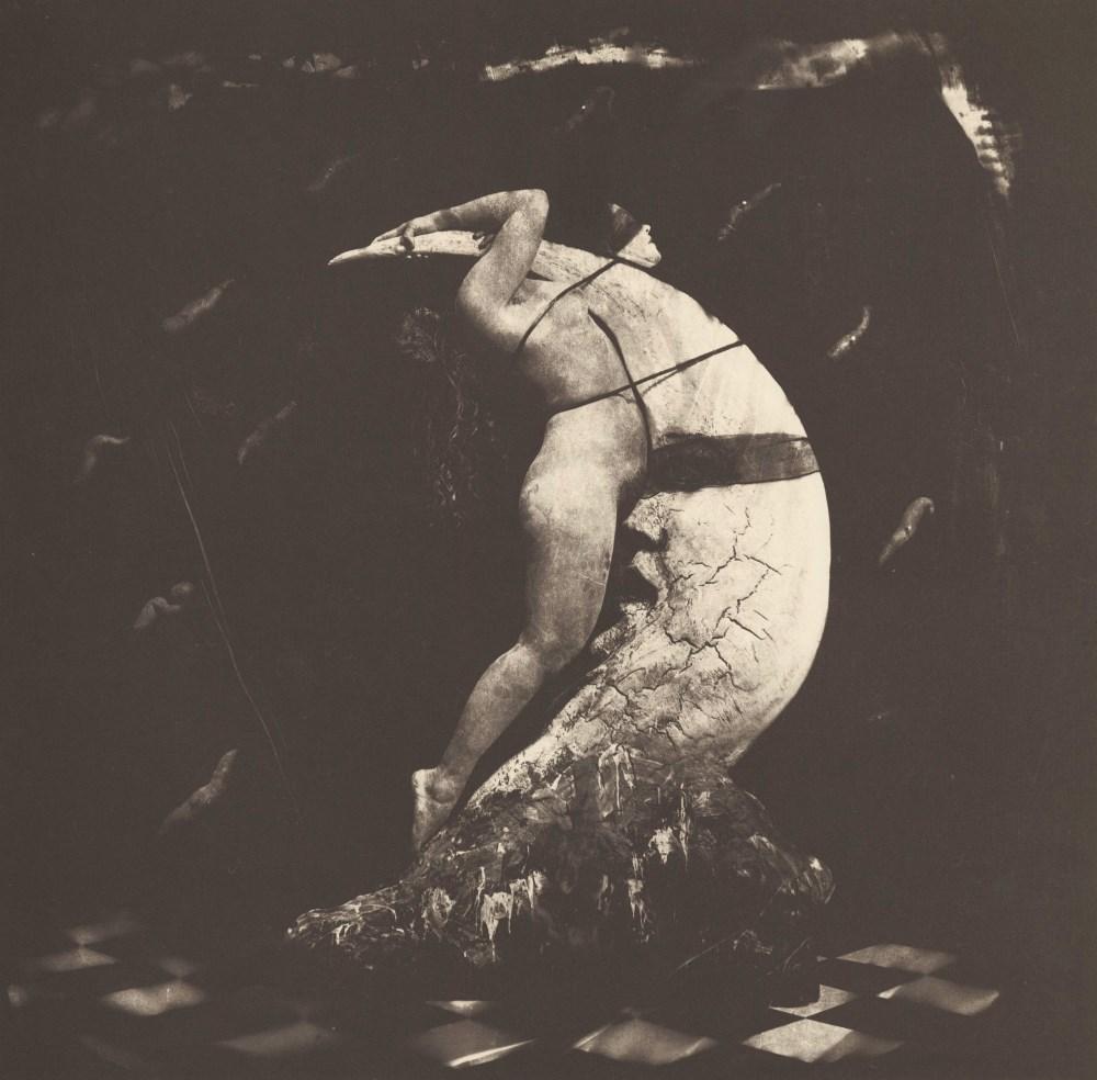 JOEL-PETER WITKIN - Woman on the Moon - Original vintage photogravure
