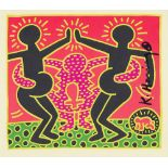 KEITH HARING - Fertility Suite #5 - Original offset lithograph