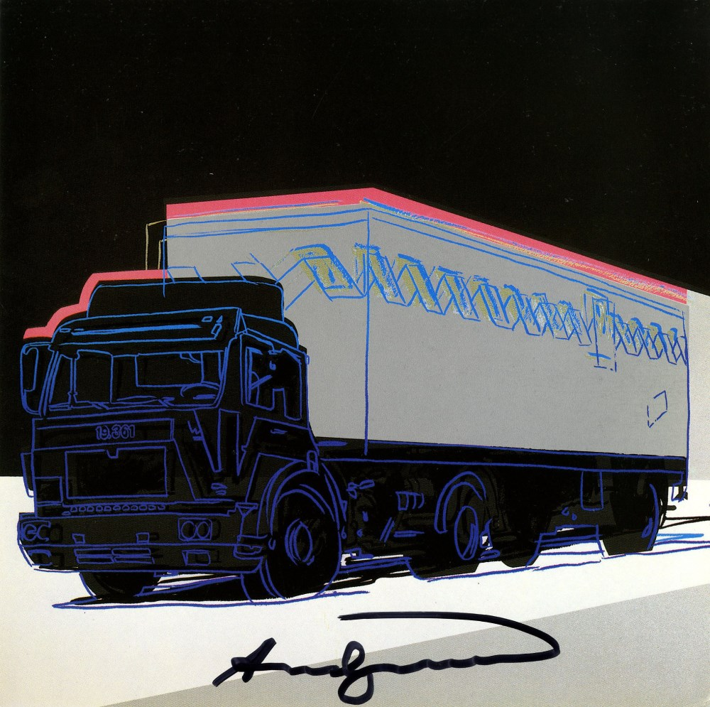 ANDY WARHOL - Trucks Suite - Color offset lithographs - Image 4 of 10