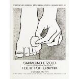 ROY LICHTENSTEIN - Foot Medication - Offset lithograph