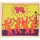 KEITH HARING - Fertility Suite #1 - Original offset lithograph